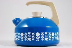 sweet folky tea kettle