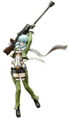 Sword Art Online figures USED Sinon maid ver No box BANPREST