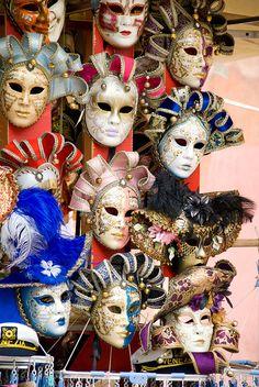 Venetian masks | Flickr - Photo Sharing!