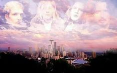 """""""Say Hello 2 Heaven"""" - Layne Staley, Kurt Cobain, Andrew Wood, and Chris Cornell. Say Hello To Heaven, Andrew Wood, Mad Season, Temple Of The Dog, Layne Staley, Nu Metal, Gothic Rock, Alice In Chains, Above The Clouds"""