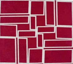 Metaesquema - 1958. Helio Oiticica (1937-1980) who was best known for his innovative use of color. He progressed from abstract paintings to painted reliefs and objects to performance props and interactive installation art — which was fueled by a passion for color as theoretical as it was obsessive.