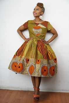 M A J I COLLECTION: The Li Li Afro Belle Dress by LiLiCreations ~ African fashion, Ankara, kitenge, Kente, African prints, Braids, Asoebi, Gele, Nigerian wedding, Ghanaian fashion, African wedding ~DKK