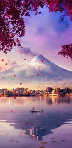 Mount Fuji View iPhone Wallpaper - iPhone Wallpapers