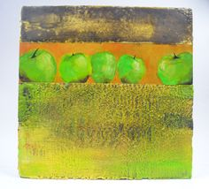 A personal favorite from my Etsy shop https://www.etsy.com/ca/listing/535078029/apples-aplenty-a-12x12-encaustic-and