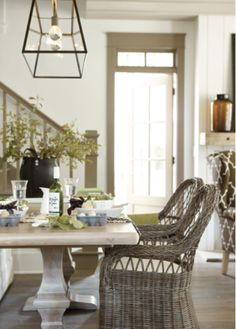 Bosch - Ballard Designs dining room in Serenbe