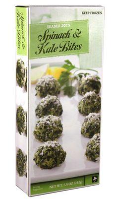 Trader Joe's List: Trader Joe's Spinach & Kale Bites
