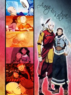 When love is real, it finds a way. Aang and Katara. Its a little bit insane how much i love them.. Nothing is better<3<3<3<3