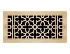 Laser Cut Wood Grilles | Pacific Register Company Laser Cut Wood, Laser Cutting, Wall Vent Covers, Types Of Wood, Animal Print Rug, Finding Yourself, Bronze, Ceiling, Pattern