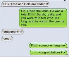 Hilarious Texting Fail