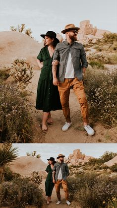 Couples Photoshoot in Joshua Tree National Park | Carrie Rogers Photography | Joshua Tree Engagement Session | Trendy Outfit Ideas for Engagement Photos | Joshua Tree Wedding Photographer | Adventurous Engagement Session #joshuatree #couples #adventure #weddingphotography