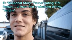 Actually try to have me, treat me right, respect and understand me and I just might take you 💗 Grayson Dolan Imagines, Dolan Twins Imagines, Dolan Twins Memes, Imagines Tumblr, Dollan Twins, Ethan Dolan, Magcon, Dylan O, I Feel Good