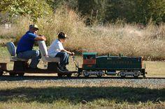 Sacramento Valley Live Steamers Railroad Museum, Inc.   You can ride this train in Rancho Cordova