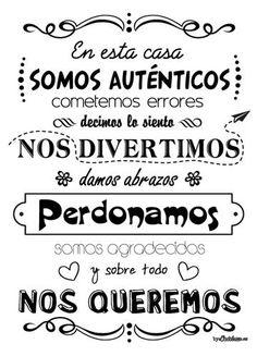 Frase-regalo-para-la-familia-001 Mr Wonderful, Coaching, Mason Jars, Family Rules, Spanish Quotes, Ideas Para, Best Quotes, Poems, Inspirational Quotes