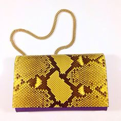 Say hello to #my #new #bicolor #python #clutch  #handmade #in #italy  #agnesavuthajclutch
