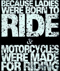 Ride. Hard