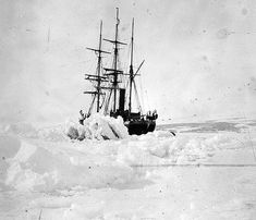 Ice-bound: The SS Terra Nova used by Scott and his companions