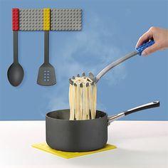 LEGO cooking utensils