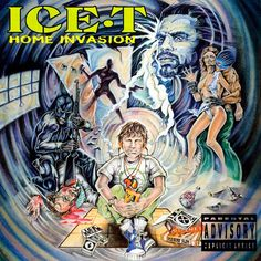 Ice-T - Home Invasion (w/ lyrics) Album; Home Invasion, Disc 1 Lyrics; All right when we go up in this goddamn house All I want is the motherfuckin' kids As . Ice T, Classic Hip Hop Albums, Tubular Bells, Rap Albums, T Home, Hip Hop Rap, Cover Art, Lp Cover, Album Covers