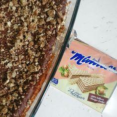 Brownies mit Manner Waffeln Brownies, Vegan Bar, Kakao, Banana Bread, Sweets, Desserts, Food, Vienna, Kuchen