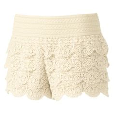 Lace shorts for layering under dresses and long tops - Have it