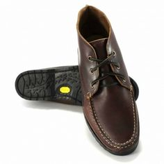 2498bd187b0 Quoddy Kennebec Chukka - Brown Chromexcel - Rugged Vibram Sole Trail Shoes