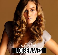 Get the look: How to create loose waves on long hair