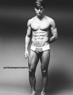 24yr old model Pietro Boselli  Darren Black for PortisWasp