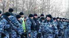 Конвой Русского МАРША в Москве  Люблино 4 Ноября 2014