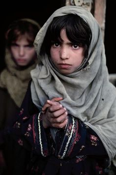 Afghanistan's beautiful children.  I wish their eyes had hope in them.