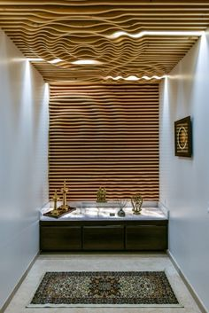 all idea inspiration design interior and exterior home modern decor Wall Design, Room Design, Interior Design, Decor Design, Bathroom Interior Design, Interior Architecture, Residential Interior, Pooja Room Design, Ceiling Design