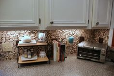 I like this way to put up tile. I will use red-colored tile accents.