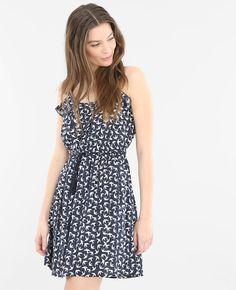 Robe imprimée - Une petite robe légère qui exprime une féminité estivale et joyeuse.