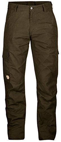 Fjallraven Mens Ovik Winter Trousers Dark Olive 48 ** Want to know more, click on the image.