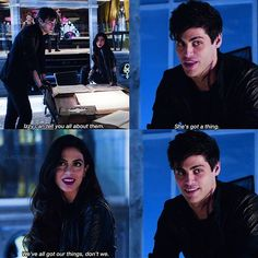 "#Shadowhunters 1x03 ""Dead Mans Party"" -  Alec and Izzy"