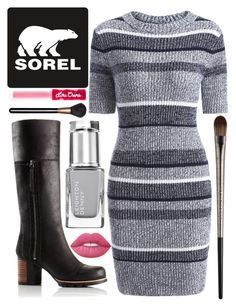 """Kick Up the Leaves (Stylishly) With SOREL: CONTEST ENTRY"" by whynot17 ❤ liked on Polyvore featuring SOREL, Lime Crime, MAC Cosmetics, Urban Decay and sorelstyle"