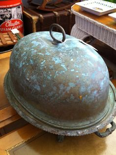 Fabulous patina and truly galvanized...