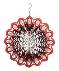 3D/Stainless/Steel/Rotating/Wind/Chime Kinetic Wind Spinner Bright/Reflective/Mirror/Surface/Foldable/Sheet/Metal/Iron/Wire/Wind Spinner Hanging Ornament