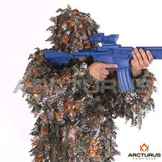 Hunting- Arcturus 3D Leaf Ghillie Suit (Autumn, XL/XXL) -- For more information…