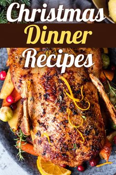 Looking for easy Christmas dinner recipes for your holiday menu? From ham to turkey to sides, these tasty dishes will give you even more to celebrate. #christmasdinner #christmasrecipes Best Christmas Dinner Recipes, Easy Christmas Dinner, Holiday Recipes, Christmas Dinners, Christmas Foods, Christmas Decor, Great Recipes, Favorite Recipes, Yummy Recipes