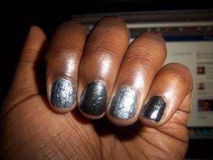OPI Silver Shatter & Finger Paints Where Art Renoir?
