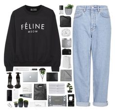 """I love you just a little too much..."" by marysilvs1 ❤ liked on Polyvore featuring Boutique, Brian Lichtenberg, Shoe Cult, NARS Cosmetics, Monki, MAKE UP FOR EVER, CO, red flower, Givenchy and Dermalogica"