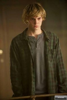 Evan Peters as Jonathan Christopher Morgenstern/Sebastian from The Mortal Instruments