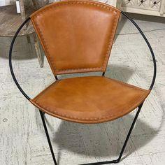 Leather and Metal Papasan Chair, Geometric Furniture, Retro Furniture, Find Furniture, Unique Furniture, Rustic Furniture, Furniture Decor, Industrial Furniture, Garden Table And Chairs, Papasan Chair