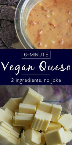 You only need two ingredients to make this creamy, festive vegan queso recipe. No, for real.