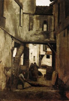 Jean Baptiste Camille Corot The Tanneries of Mantes Masters of Art: Jean Baptiste Camille Corot (1796   1875)