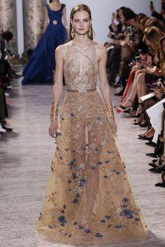 Elie Saab Spring/Summer 2017 Couture Collection | British Vogue. Mandana Wright
