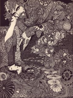 HARRY CLARKE - for Edgar Allen Poe's book, Tales of Mystery and Imagination