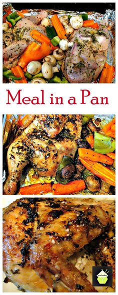Meal In A Pan - What could be better than only one pan to wash? Yep, a great tasting dinner! Choose your favourite meat & veggies, add the flavourings and away you go! Easy Recipes, Crockpot Recipes, Healthy Recipes, Cooking Recipes, Dinner Recipes, Turkey Recipes, Veggie Recipes, Chicken Recipes, Great British Food