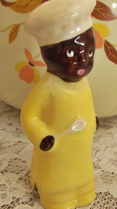 Unique Little Black Americana Pie Bird by BallentinesAntiques, $39.00
