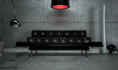 QWERTY Couch by Zo Loft